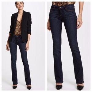 Paige Manhattan Baby Bootcut Leyland Dark Jeans 32
